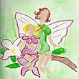 A is for Apple Blossom Fairy