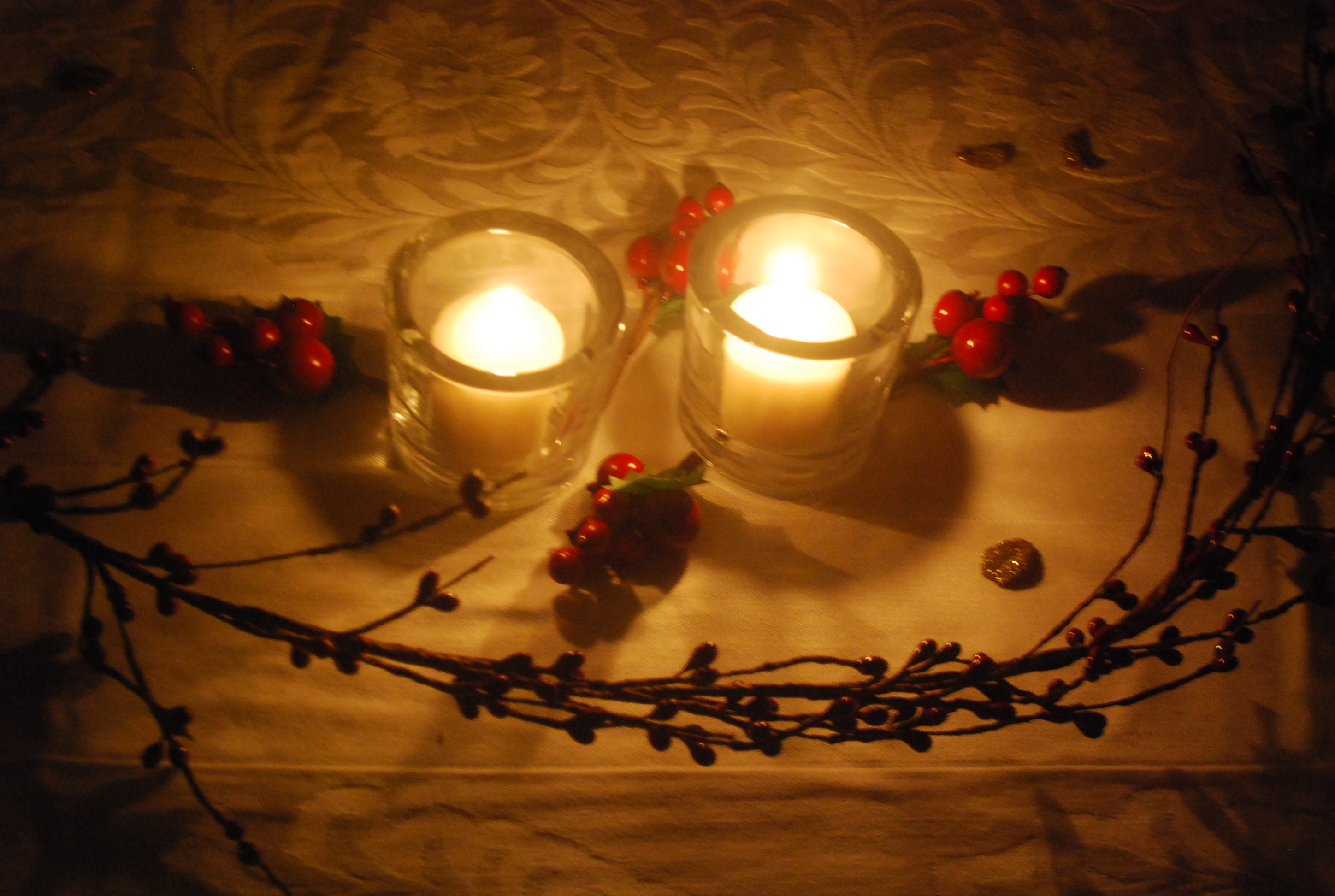 Candlelight at the table in the heart of my home dsc0319 aloadofball Images