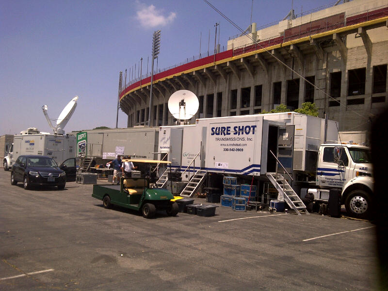 Production truck real madrid