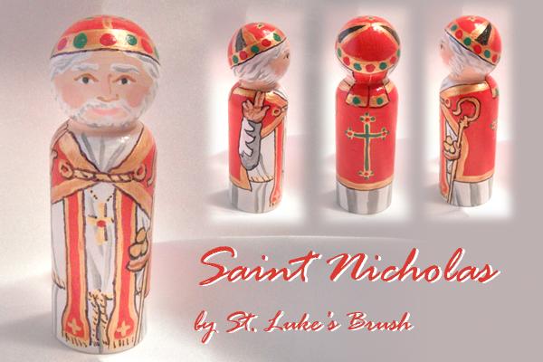 Saint Nicholas giveaway piece