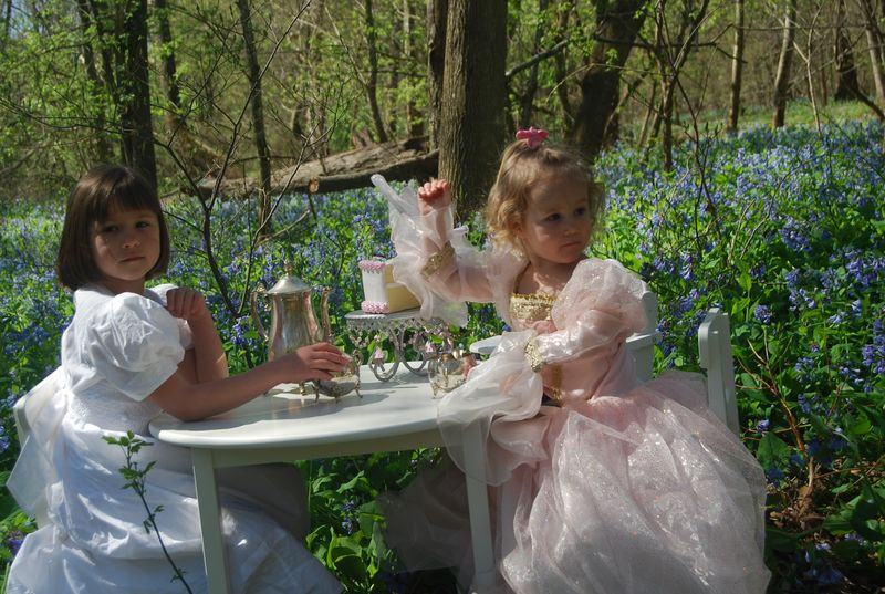 Girly tea party