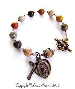 Rosary bracelet 2
