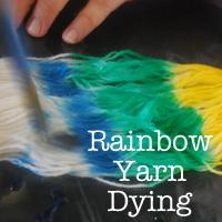 Yarn dying