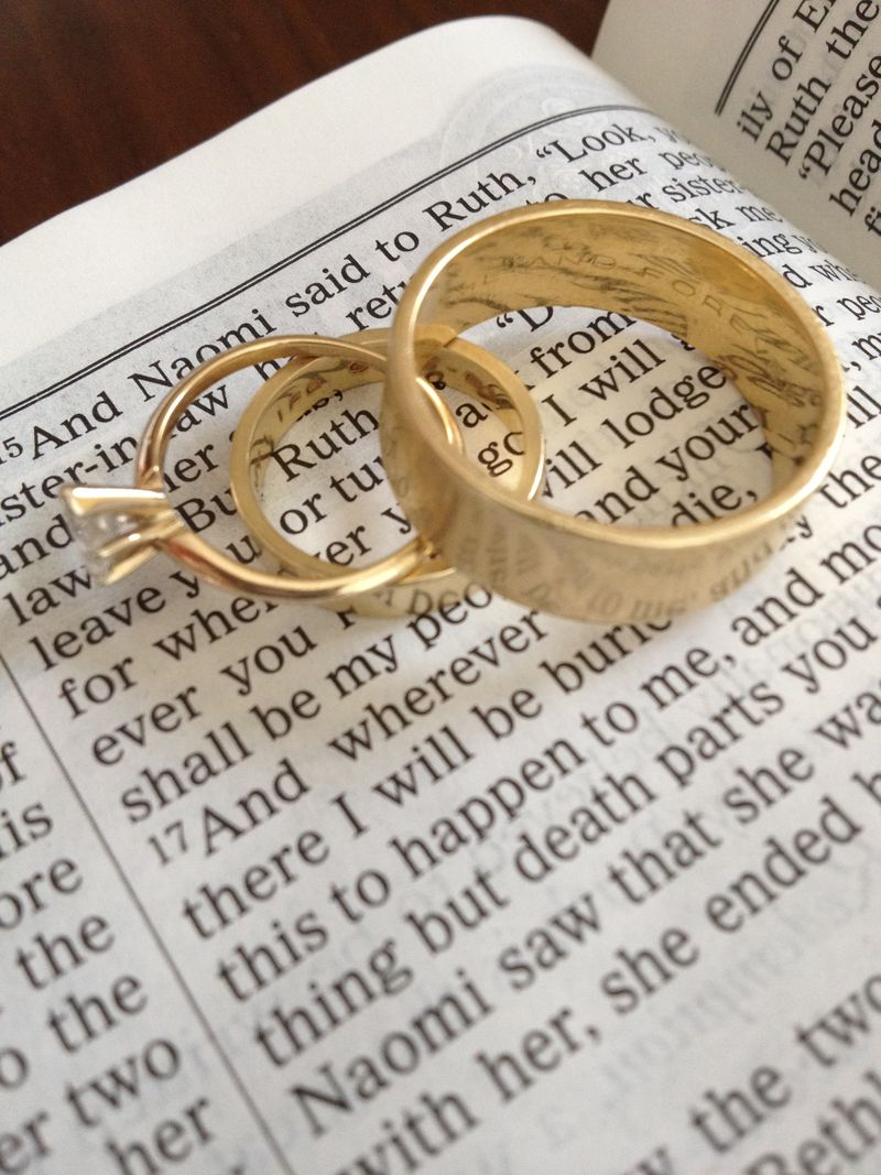 Wedding Gifts For Christian Bride : ll be back later today to smile about my husband:-).