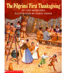 Pilgrims first thanksgiving