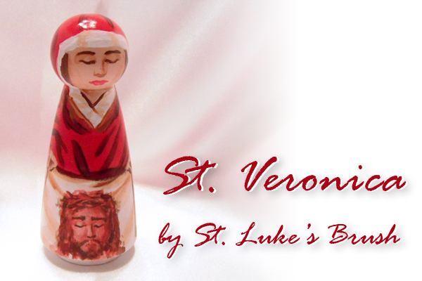 St, Veronica giveaway piece
