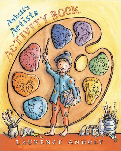 Artist activity book