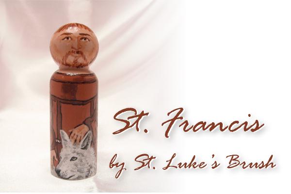 St Franics giveaway piece